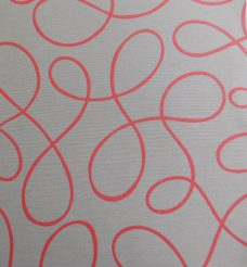 Squiggle Coral Roller Senses Blind Fabric