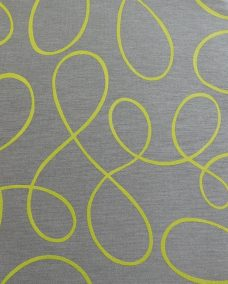 Squiggle Lime Roller Senses Blind Fabric