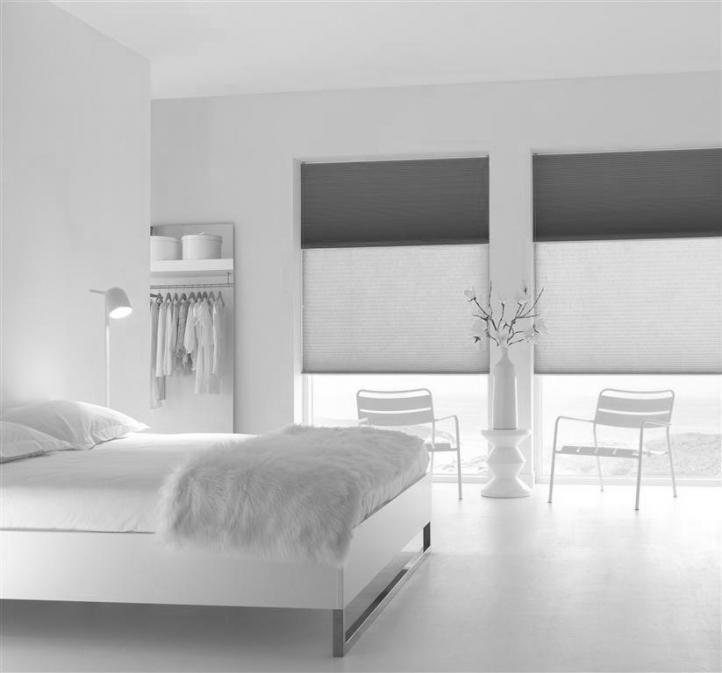 Unix Opal Blinds in bedroom x 2