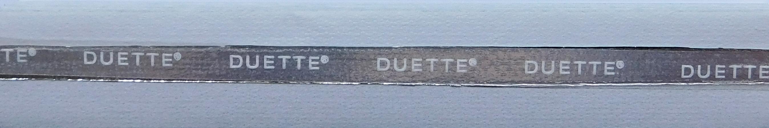 Unix Platinum Blackout Duette Blind fabric