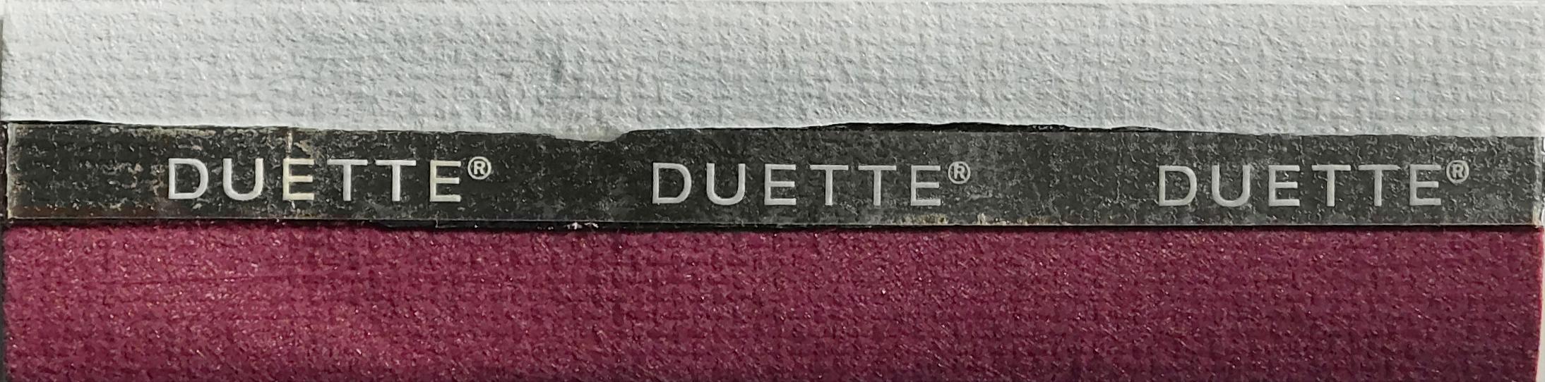 Unix Royal Plume Duette Blackout Fabric