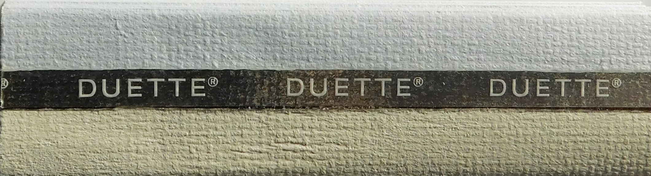 Unix Sheepskin Blackout Duette blind sample