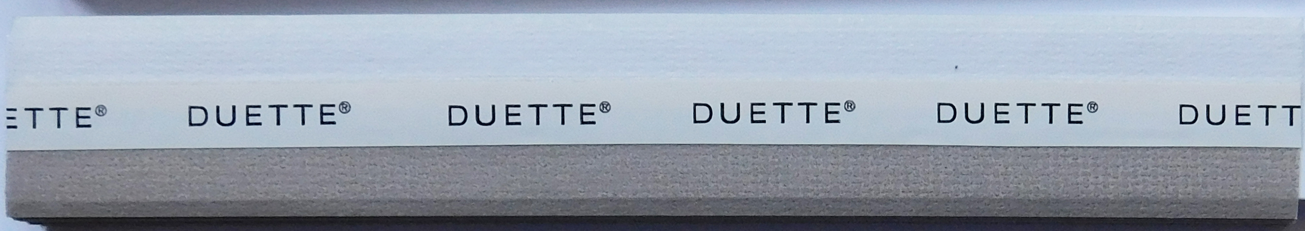 Unix Squirrel Duette Blind fabric