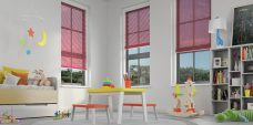 Venetian Blind -2058 - Mid Pink Slats 25 mm
