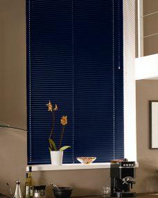 Venetian Blind 2251 , 25 mm In Dark Blue Slats