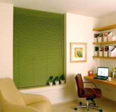 Venetian Blind 3953 25 mm slats in an office