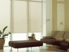 Three Venetian Blinds 4496 flat matt slats in 25 mm