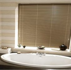 Venetian Blind 4778 textured gold slats in 25 mm