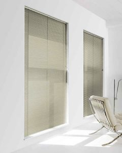Two Venetian Blinds 4806 Perforated slats in 25 mm