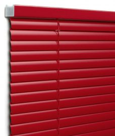 Venetian Blind 5259 25 mm close up red slats