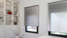 Two Venetian Blinds 7000 25 mm surface fitted