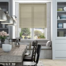 Venetian Blind 9254 set in a dining room recess window