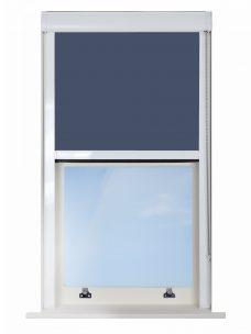0017-009 Fisherman's Blue Blocout XL Blackout Cassette Blinds