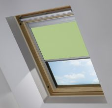 0321 Lime Green Skylight blind