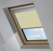 0421 Light Yellow Skylight Blind