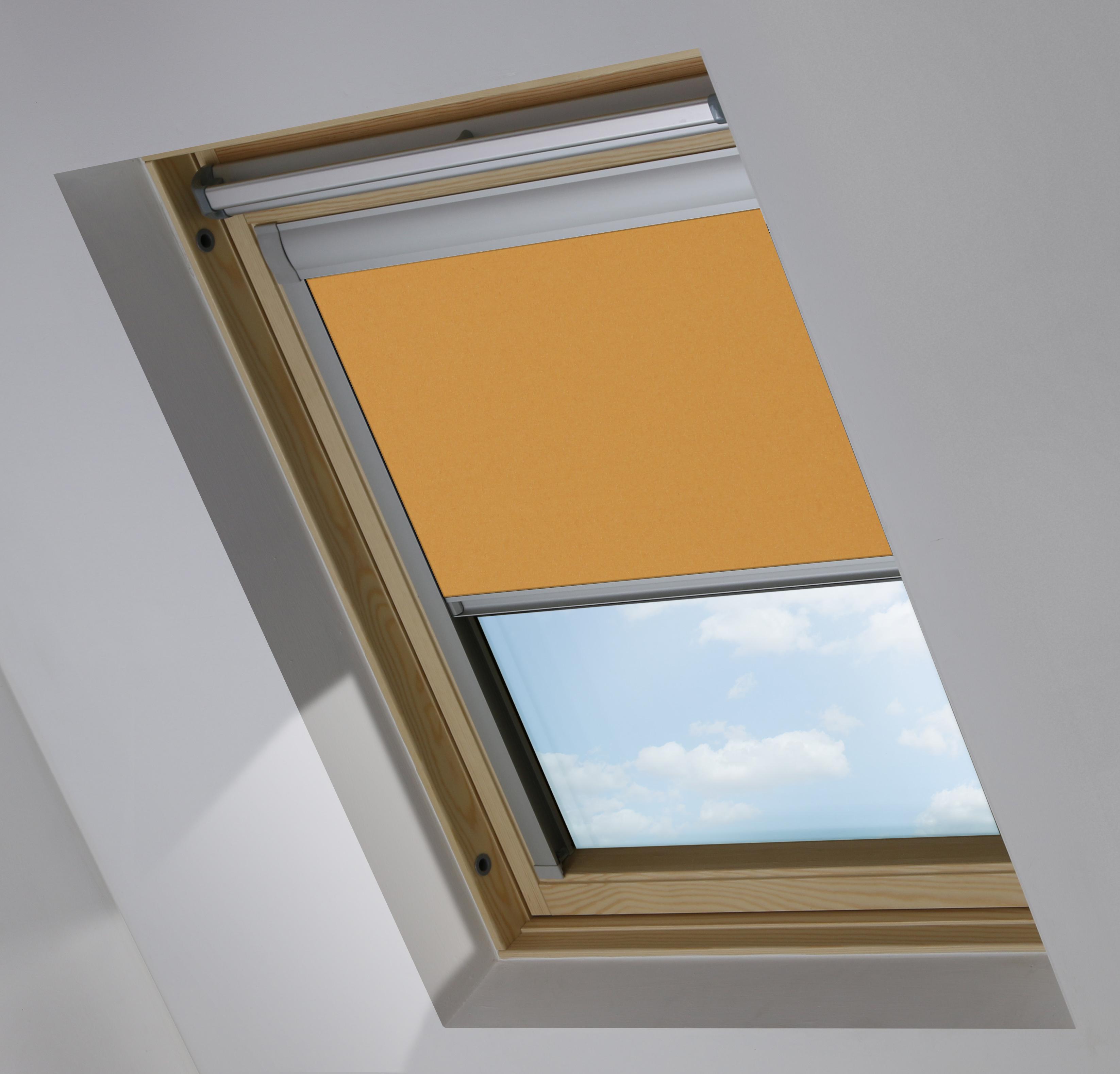 0424 Amber Sunset fabric - a bright orange fabric