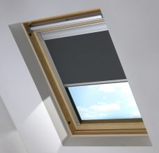 0519 Dark Grey Skylight blind