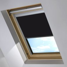 2228-228 Jet Black skylight blind