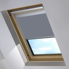 2228 718 Pewter Skylight Blind