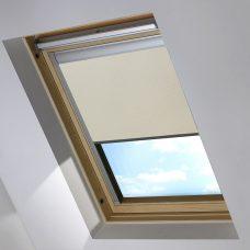 DBE1830 PVC Beige Skylight Blind