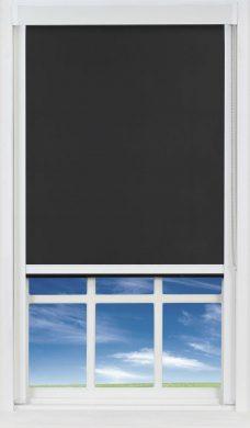 DBW1830 PVC Black Blocout XL Blind
