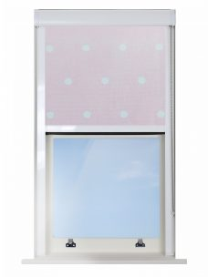 Digip001 Pink Polka Dot Blocout XL Blind