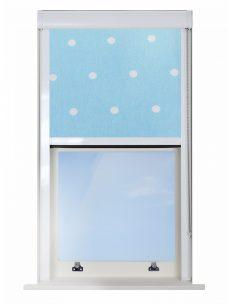 Digip003-blue-polka-dot Blocout XL Blind