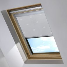 Digip004 Grey Polka Dot Skylight blind