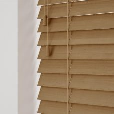 Tawny Sunwood Wooden Blind