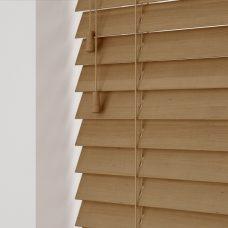 Tawny Sunwood Wooden Blind