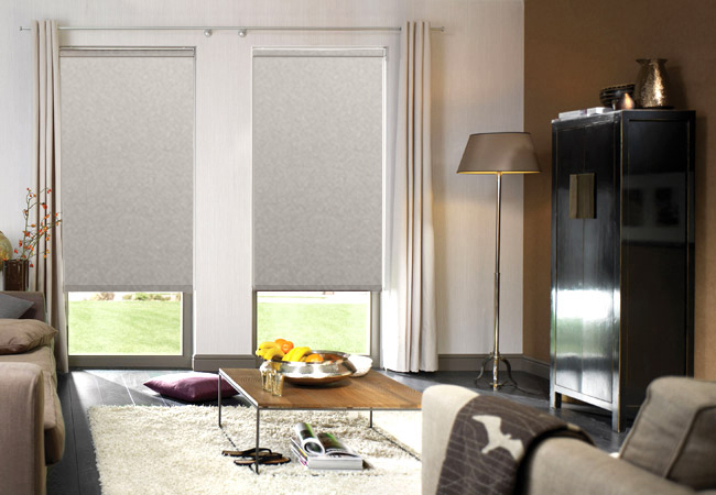 Athena Chiffon Motorised Roller Blinds