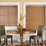 Maple Faux Wood Blinds without tapes