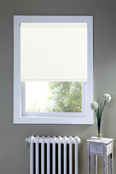 Matrix White Roller Blind
