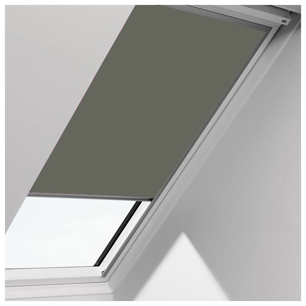 Velux-0705-grey blind fabric