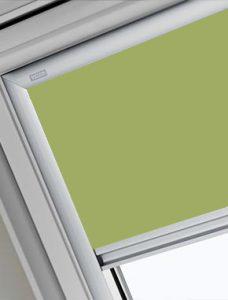 Velux 4569 Pale Green Skylight Blind