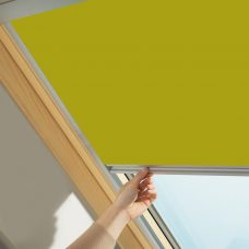 Velux 4570 Bright Yellow Skylight Blackout Blind