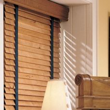 Basic Wooden Blinds With Tapes/ No Tapes in 35 mm or 50 mm