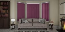 Atlantex-Solar Reflective Aubergine Vertical Blinds-Eclipse-full