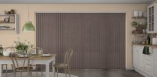 Atlantex-Solar Reflective Brown Vertical Blinds-Eclipse-full