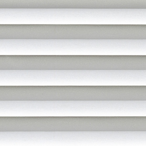 Basix Cloud Grey Pleated Blind fabric