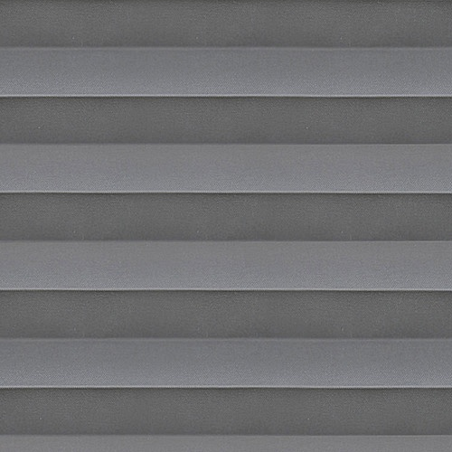 Basix Steel Pleated Blind Fabric