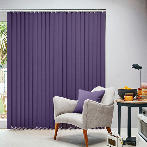 Carnival Grape Vertical blind