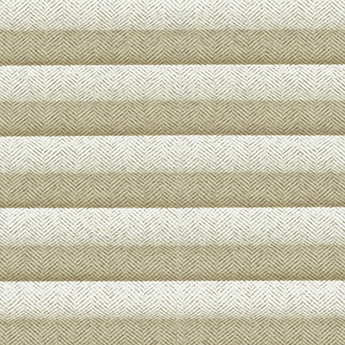 Herringbone Oatmeal Pleated Blind fabric