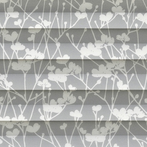 Meadow Dove Pleated Blind Fabric