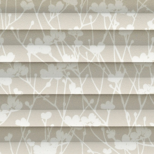 Meadow Lark Pleated Blind Fabric