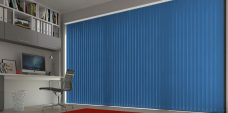 Palette Marina Vertical Blinds in an office