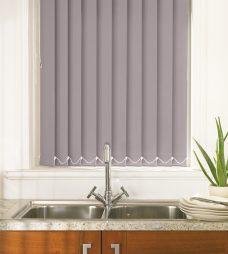 Palette Dusk Vertical blind in a kitchen