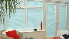 Perfect-fit Venetian blinds in slat 9225 25 mm-amo-pearlised