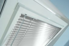 Perfect fit Venetian blinds in slats 7010 25 mm thermo finish