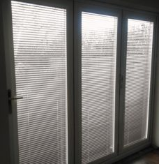 Perfect fit Venetian blinds In Slat 7430-25 mm jute finish